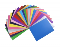 A4 size pu heat transfer vinyl sheets