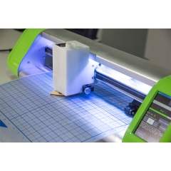"16"" single head cutting plotter with laser carving"