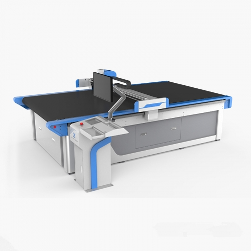 MOMO Auto feeding CCD intelligent Flatbed Cutter Plotter