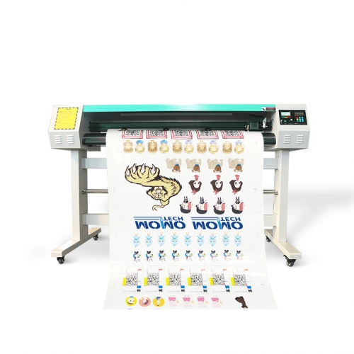 MOMO 1380mm Dual head 60W CO2 laser cutting plotter machine